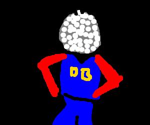 Superhero 'Disco-ball for a Head Man'