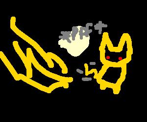 Pikachu fartin' lightnin'