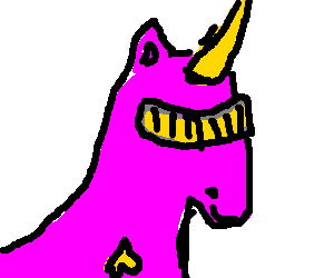 Georgi LaForge if he was a Unicorn