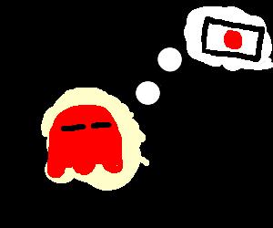 pacman's ghost dreams japan.