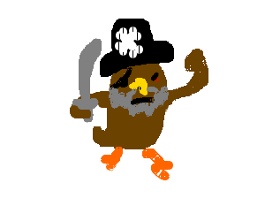 the dreaded bearded owl pirate