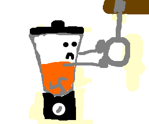 Blender is ready to hang itself from a noose