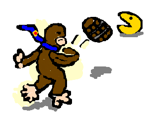 Donkey Kong has a new opponent; throws barrel