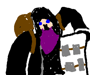 The Merchant From Resident Evil 4 Goes Shopping Drawception