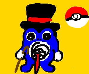 Poliwhirl, looking sharp