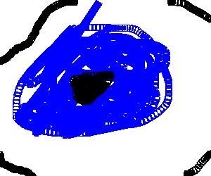 A huge eye