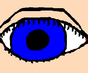 Blue Eye (detail)