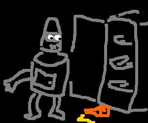Bender runs out of beer