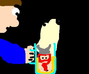 Why Am I drinking a dwarf?