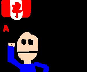 Canadian man gets an A