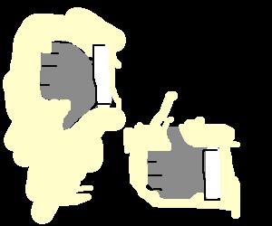Drawception thumbs up! DrawSomething thumbs down