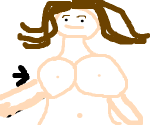 big breasted woman