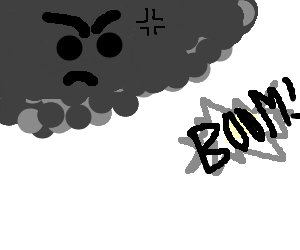 Angry Thunder Storm
