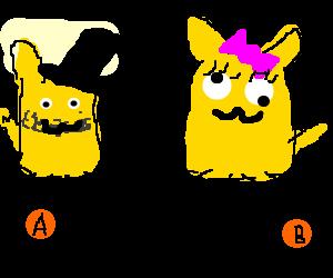 Pokemon Gender Selection