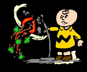 Charlie Brown fan hates broccoli