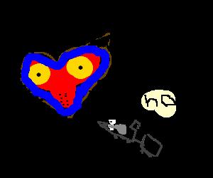 Skull Boy Eats a Bullet Train