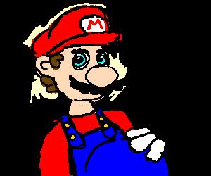 Mario is having a baby