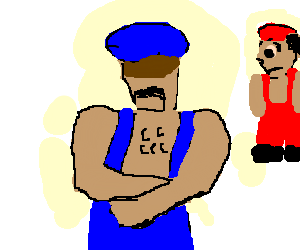 Mario met a guy cooler than him