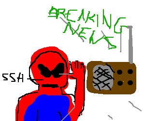 Spider man want to know about the news