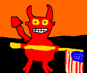 the devil is an american