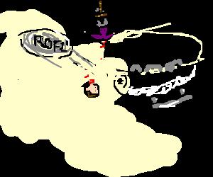 Roflcopter decapitates man with rofl.