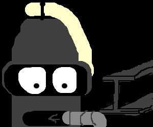 I am Bender, please insert girder.