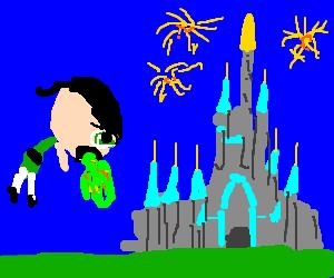 powerpuff girls vomiting in Magic Kingdom