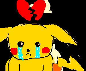 Pikachu got dumped