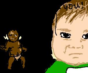 first world Success kid fights third world kid