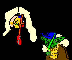 Daft Maul Versus Yo-yoda