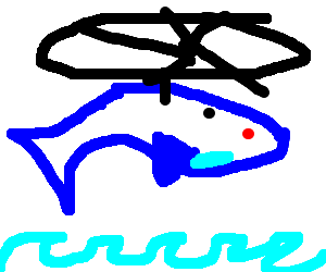 Red-eyed Helicopter Whale