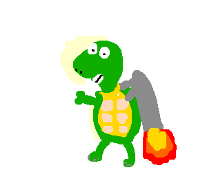 Turtle With A Jetpack