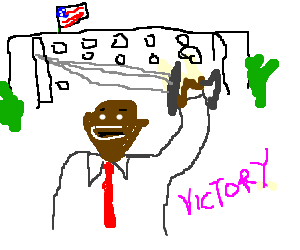 DnD campaign makes Obama president.