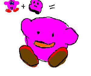 kirby + ditto = ?