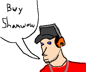 Scout from TF2 telling you to buy the shamwow