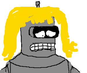 Bender having an identity crisis.