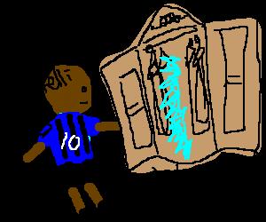 Mario Balotelli enters Narnia