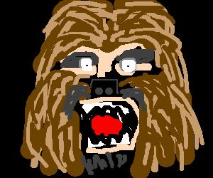 Chewbacca Stare Down
