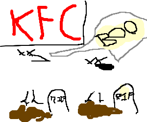 Ghosts of chickens past haunt KFC