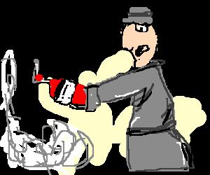 Go go Gadget fire extinguisher