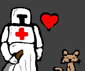 Templar loves pussy
