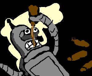 Bender on a bender