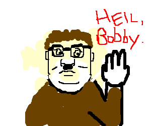 Hitler Hank Hill.