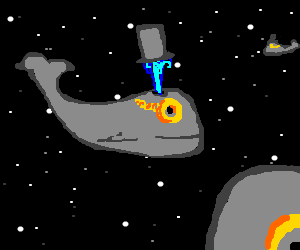 Classy space whales