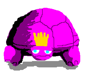 Purple Turtle King