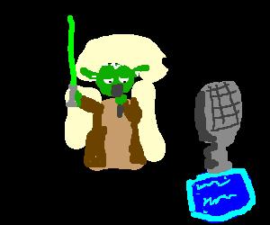 Yoda on American Idol