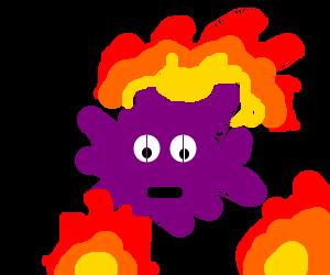 Bidoof Is On Fire Slowpoke