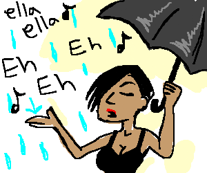 my umbrella ella ella eh eh eh