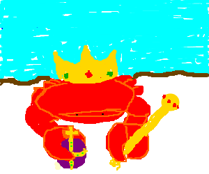 a crab king