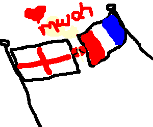 France and England making out